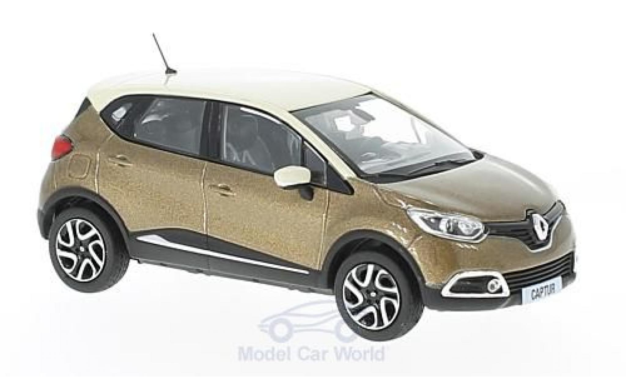 Renault Captur 1/43 Norev metallise marron/beige 2013