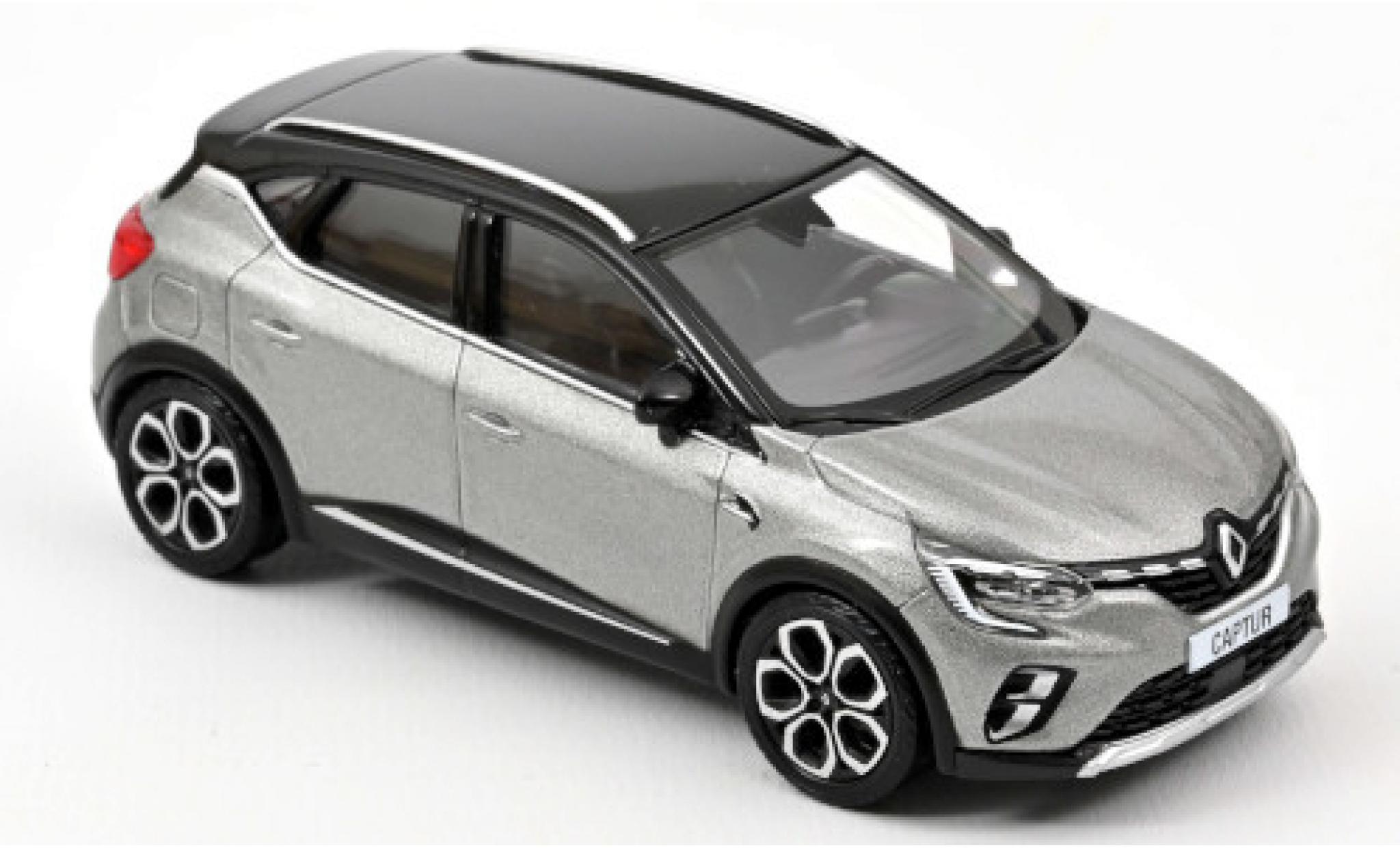 Renault Captur 1/43 Norev metallise grey/black 2020
