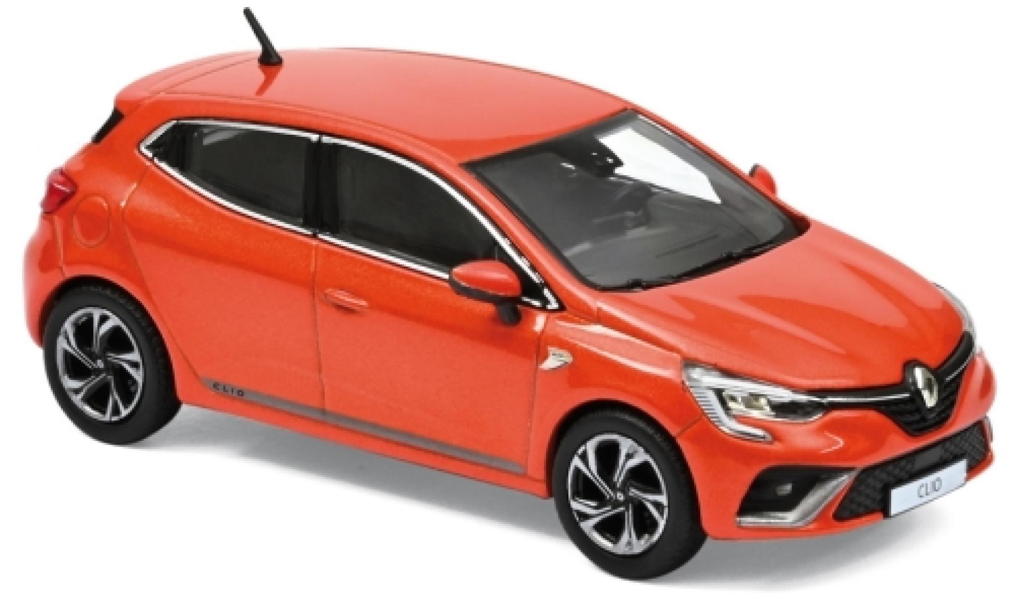 Renault Clio 1/43 Norev R.S. Line metallise orange 2019