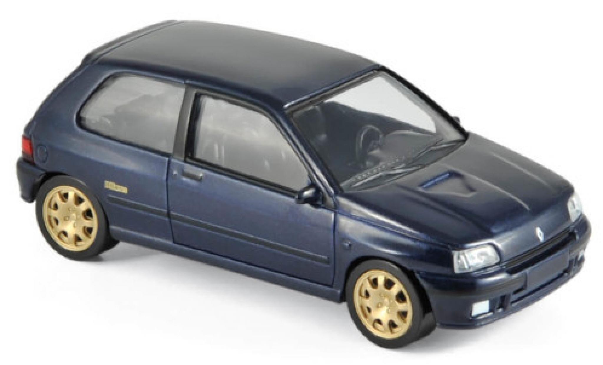 Renault Clio 1/43 Norev Williams bleue 1993