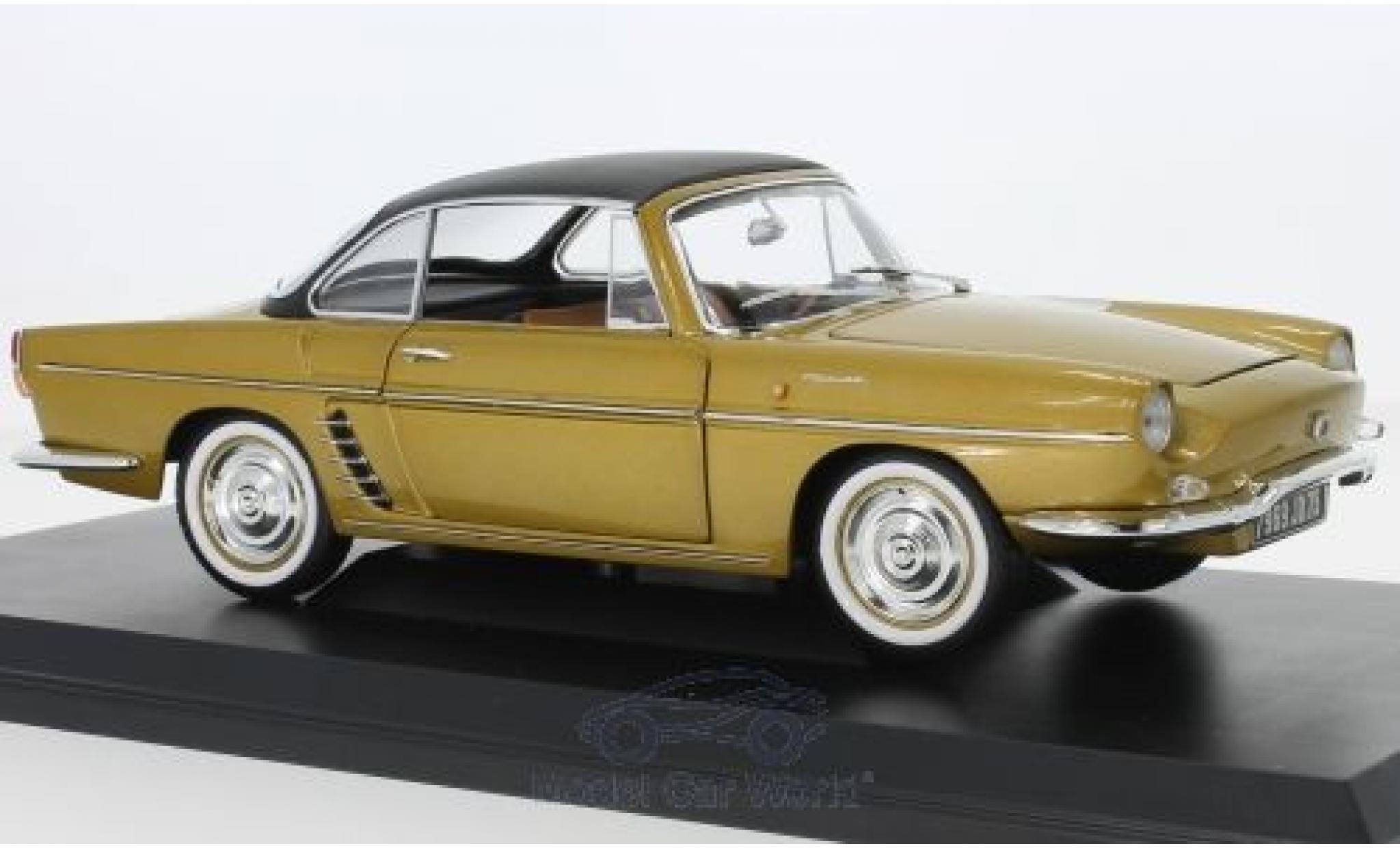 Renault Floride 1/18 Norev gold 1959 SoftTop liegt ein