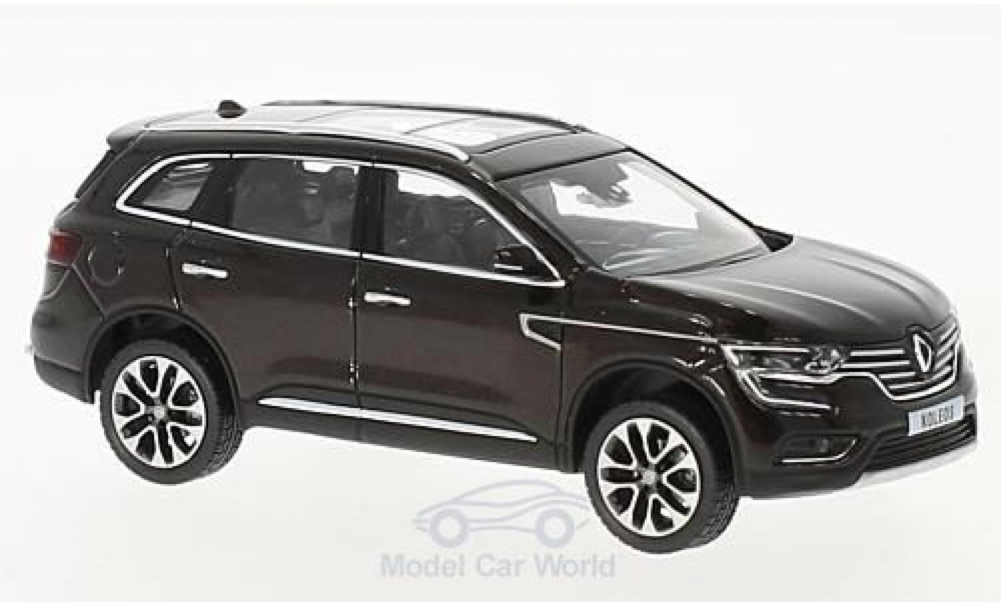 Renault Koleos 1/43 Norev metallise marron 2016