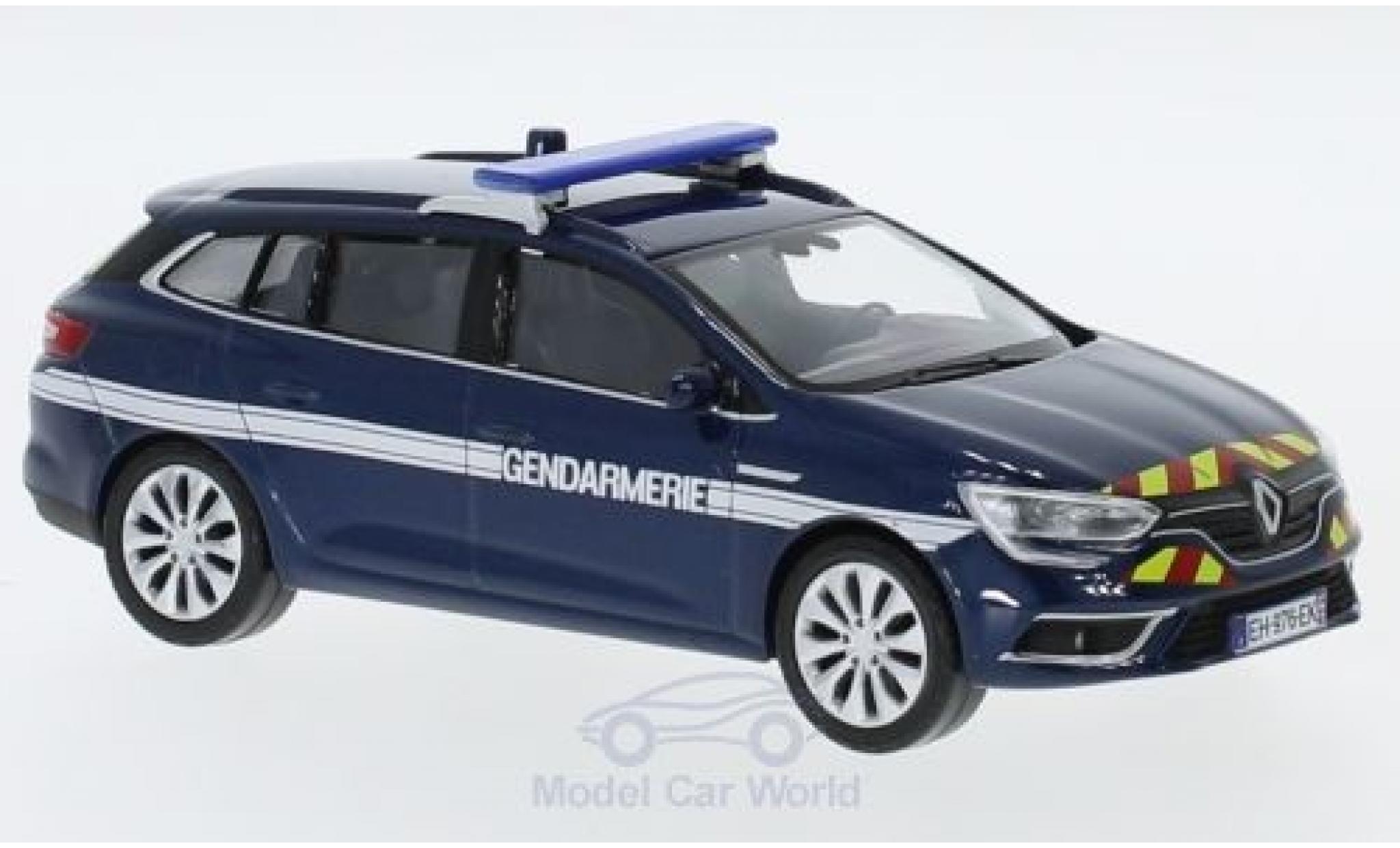 Renault Megane 1/43 Norev Estate Gendarmerie 2016