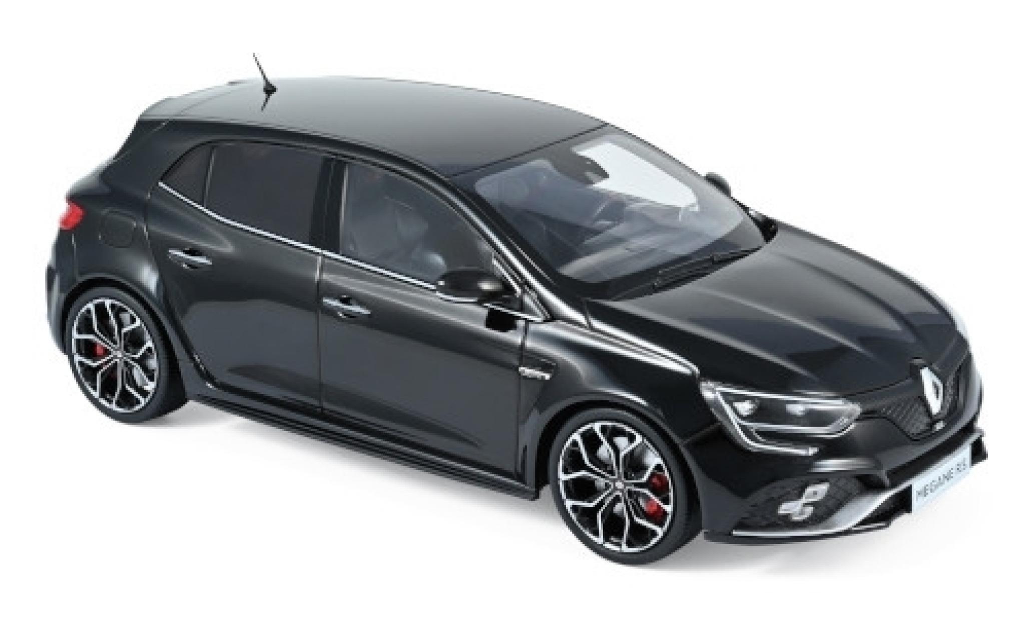 Renault Megane 1/18 Norev R.S. noire 2017