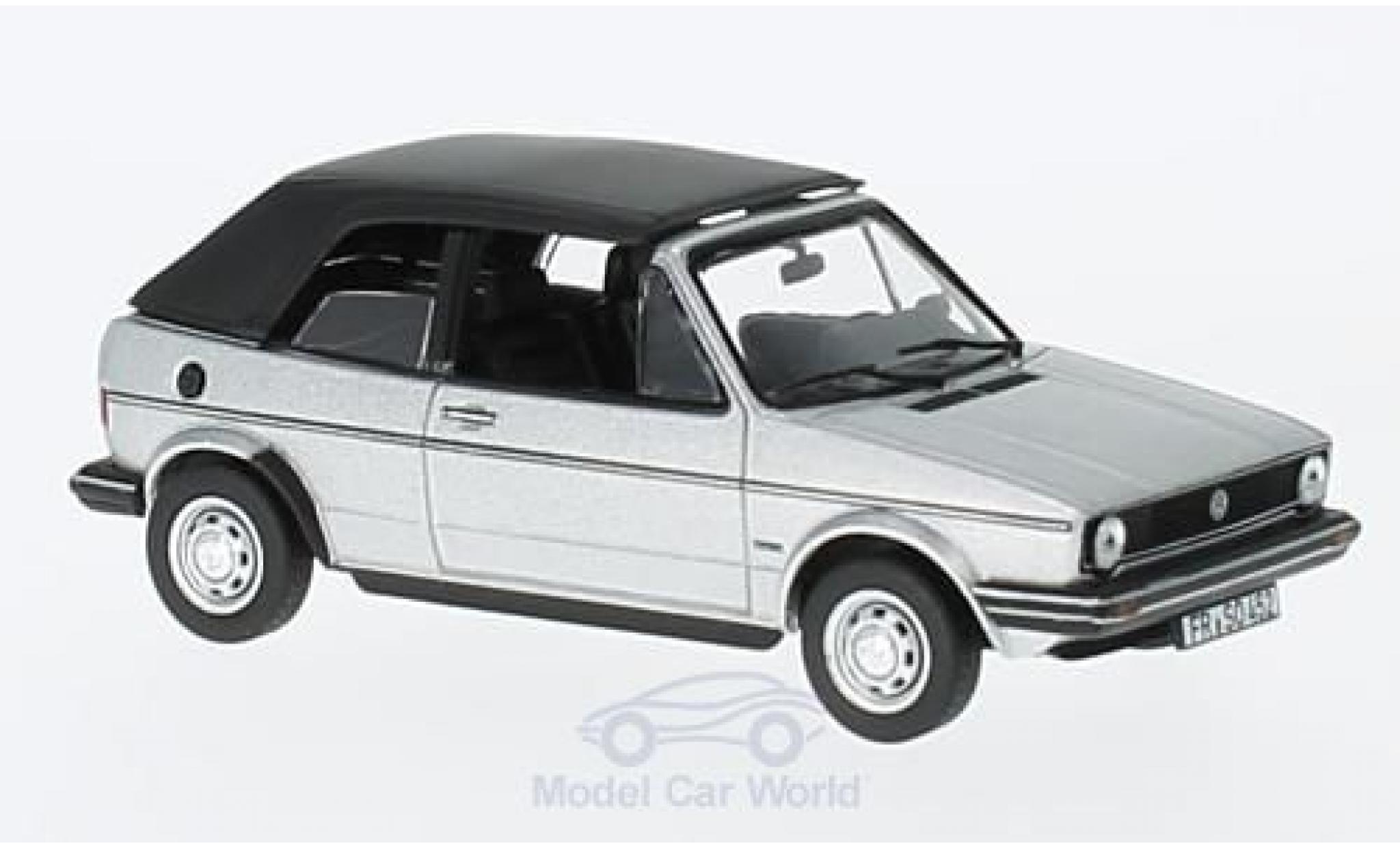 Volkswagen Golf 1/43 Norev Cabriolet grise 1981
