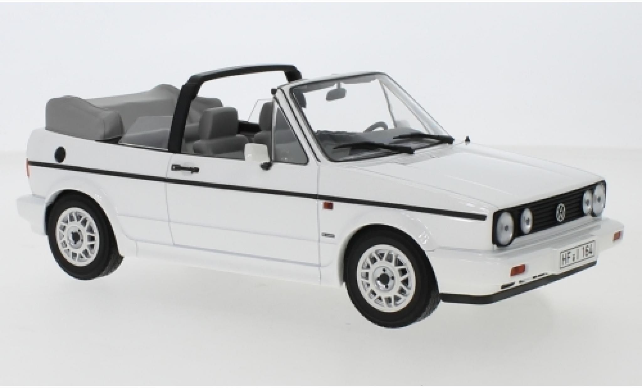 Volkswagen Golf 1/18 Norev I Cabriolet blanche 1992
