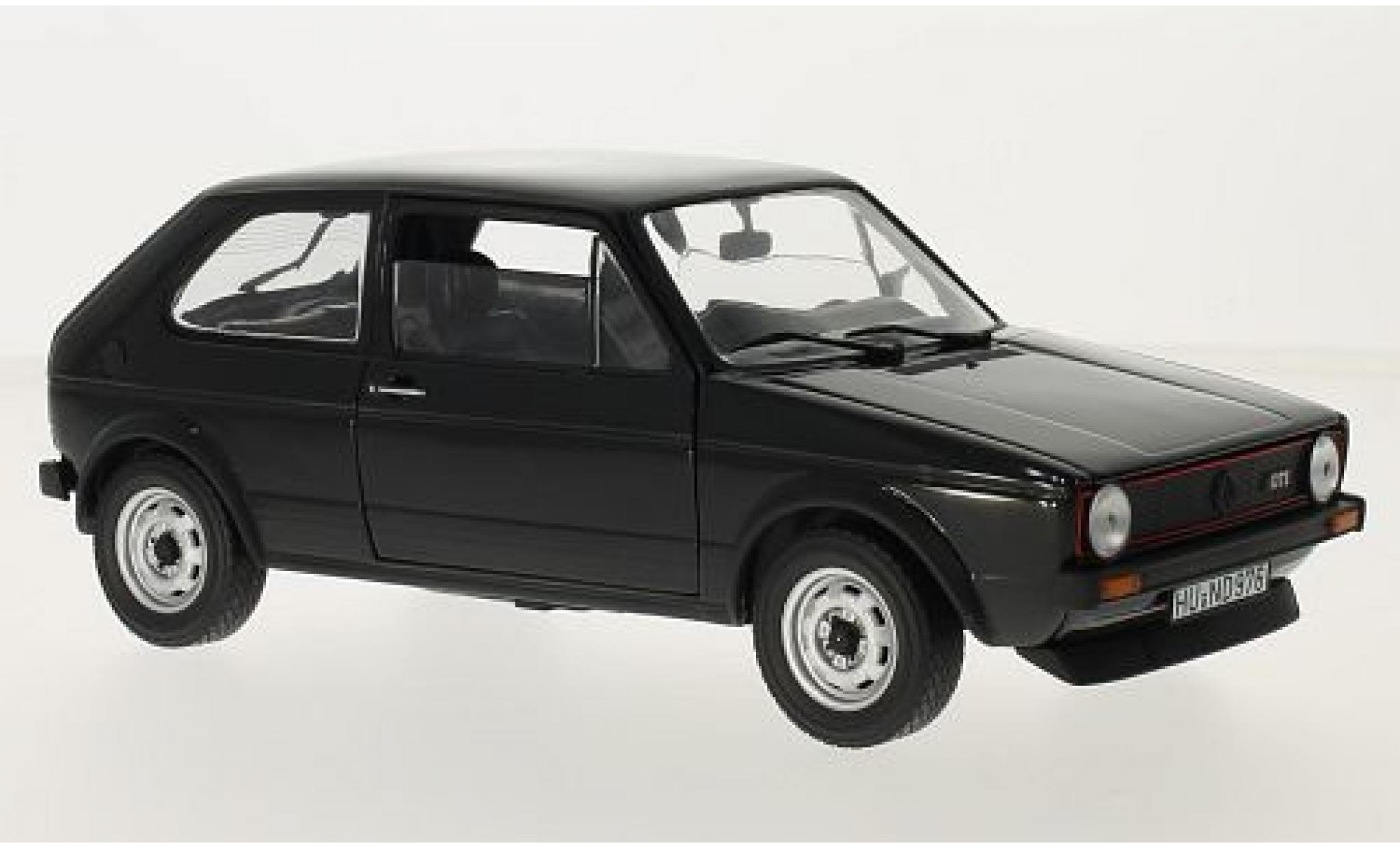 Volkswagen Golf 1/18 Norev I GTI noire 1976