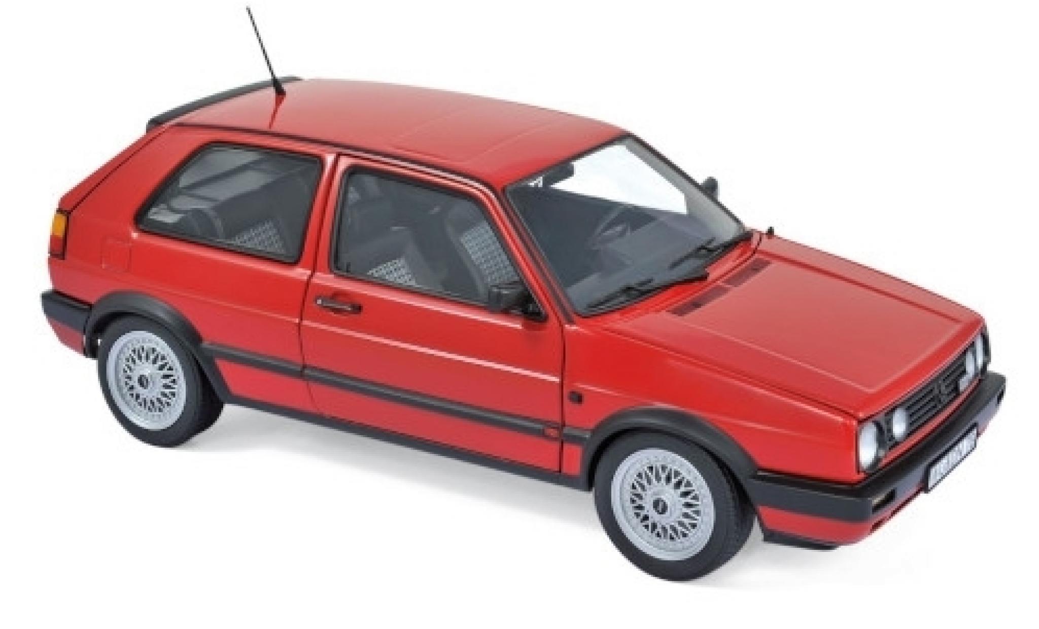 Volkswagen Golf 1/18 Norev II GTI rouge 1990
