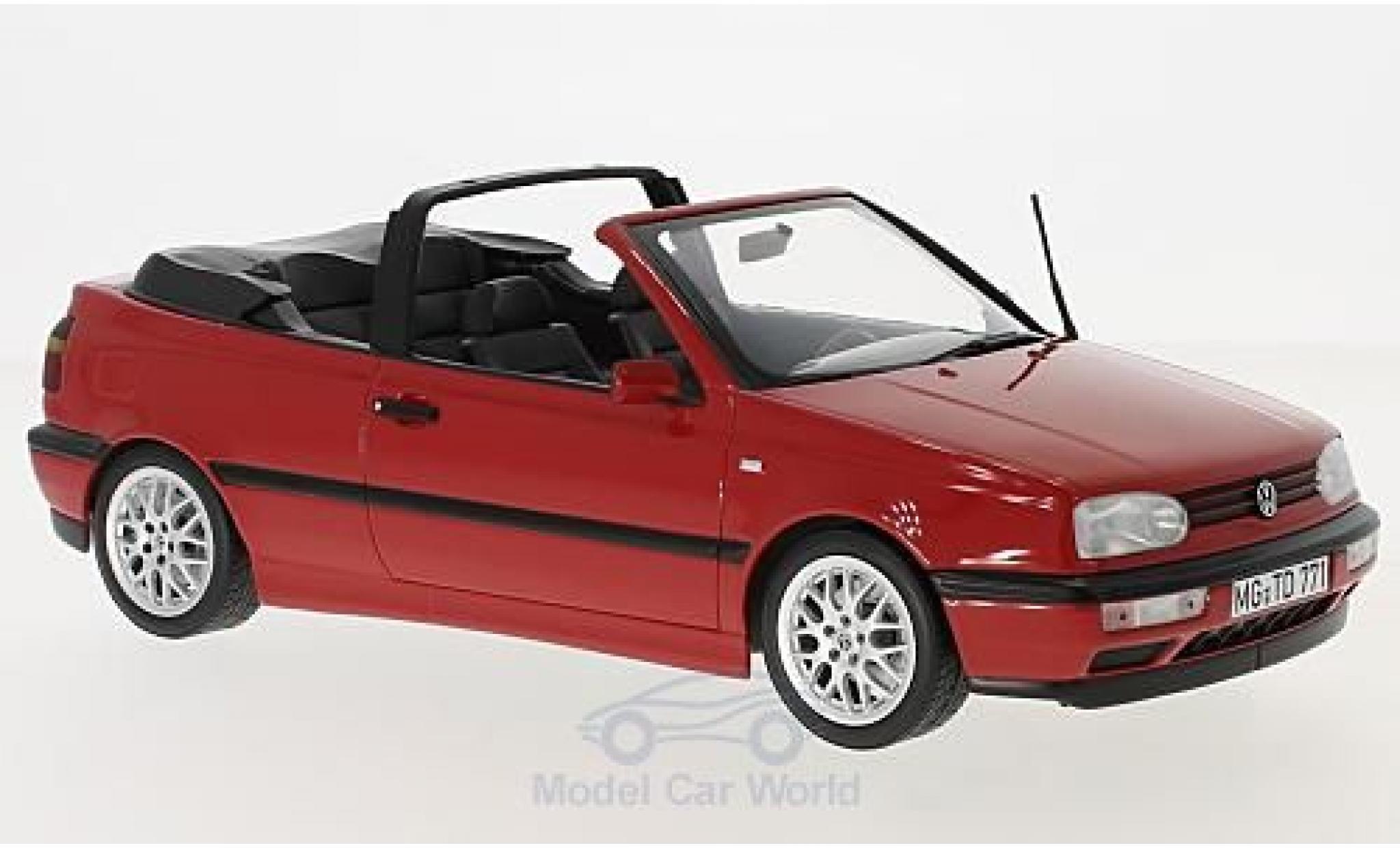 Volkswagen Golf V 1/18 Norev III Cabriolet rouge 1995