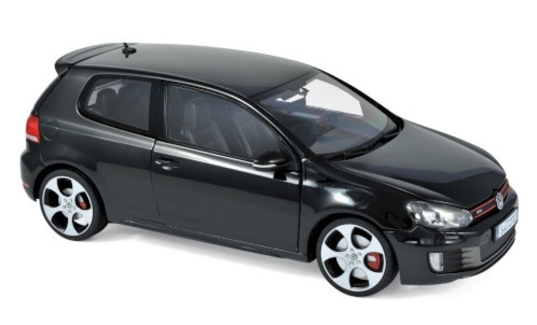 Volkswagen Golf 1/18 Norev VI GTI noire 2009
