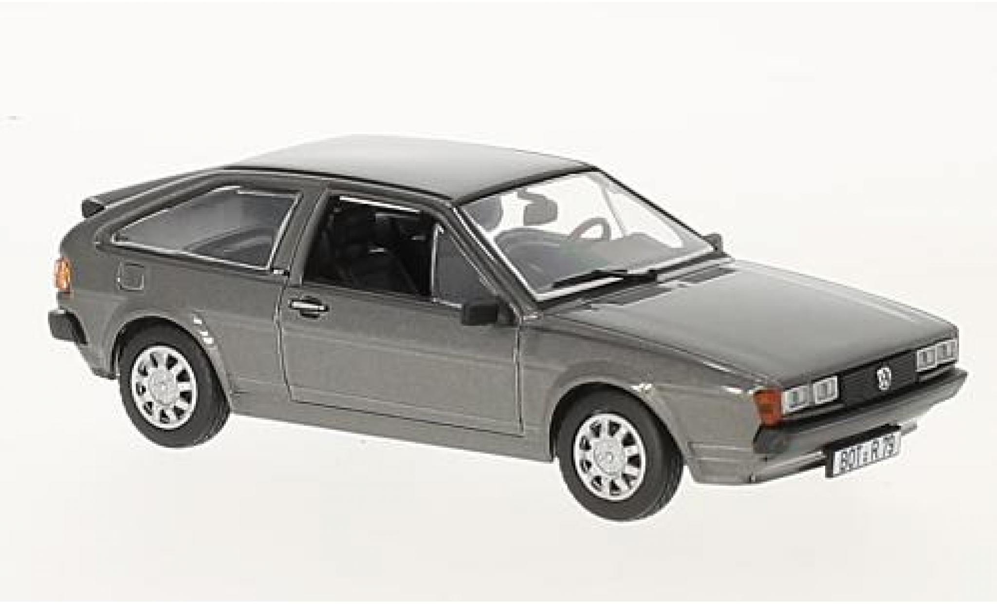 Volkswagen Scirocco 1/43 Norev II GT metallise grise 1981