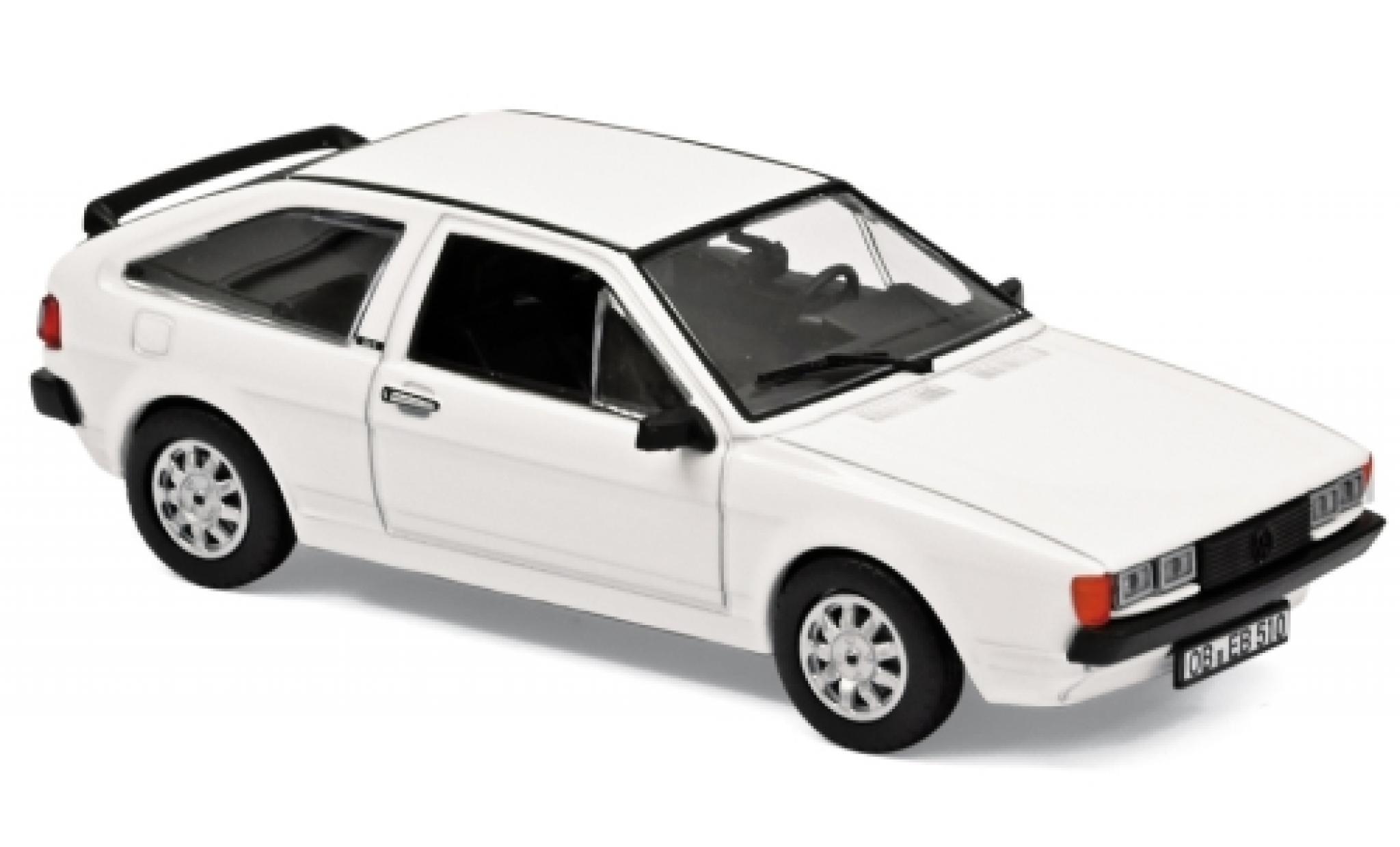 Volkswagen Scirocco 1/43 Norev II GT blanche 1981