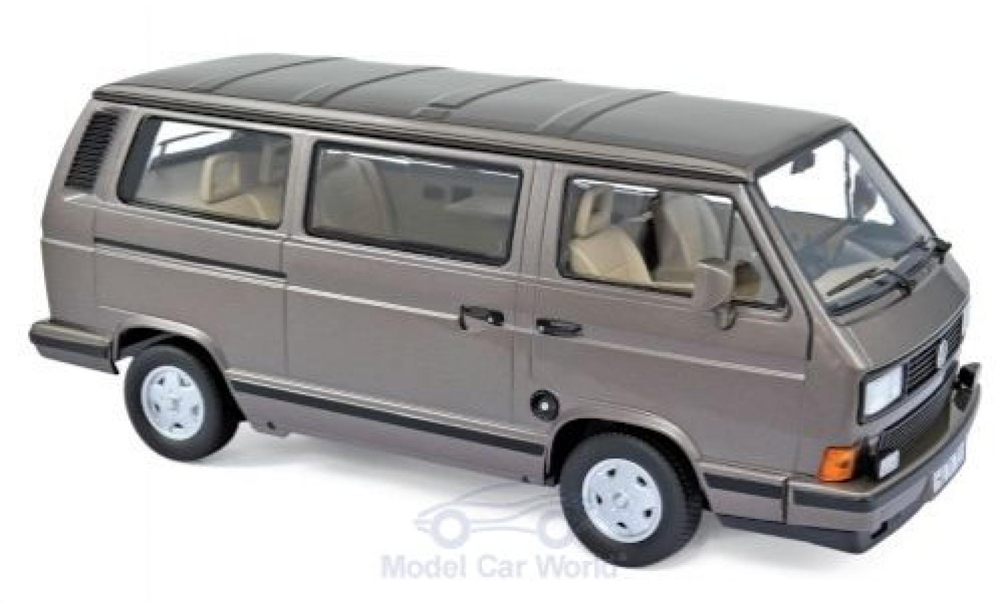 Volkswagen T3 Multivan Minibus 1990 Bronze Met NOREV 1:18 NV188543 Model