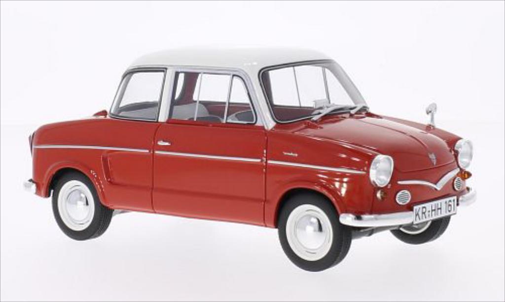 nsu prinz iii rot weiss 1960 mcw modellauto 1 18 kaufen. Black Bedroom Furniture Sets. Home Design Ideas