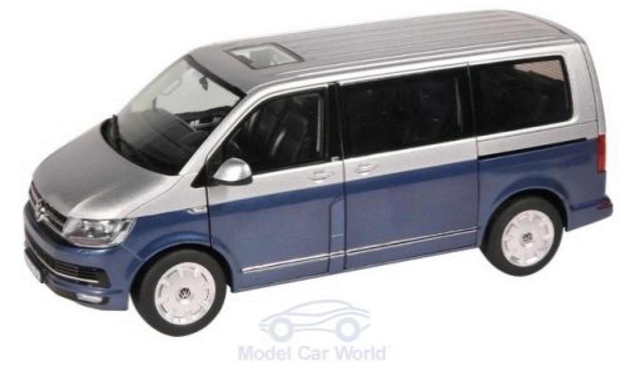 VW T6 Bus Multivan Edition 30 rot Modellauto 1:18 NZG