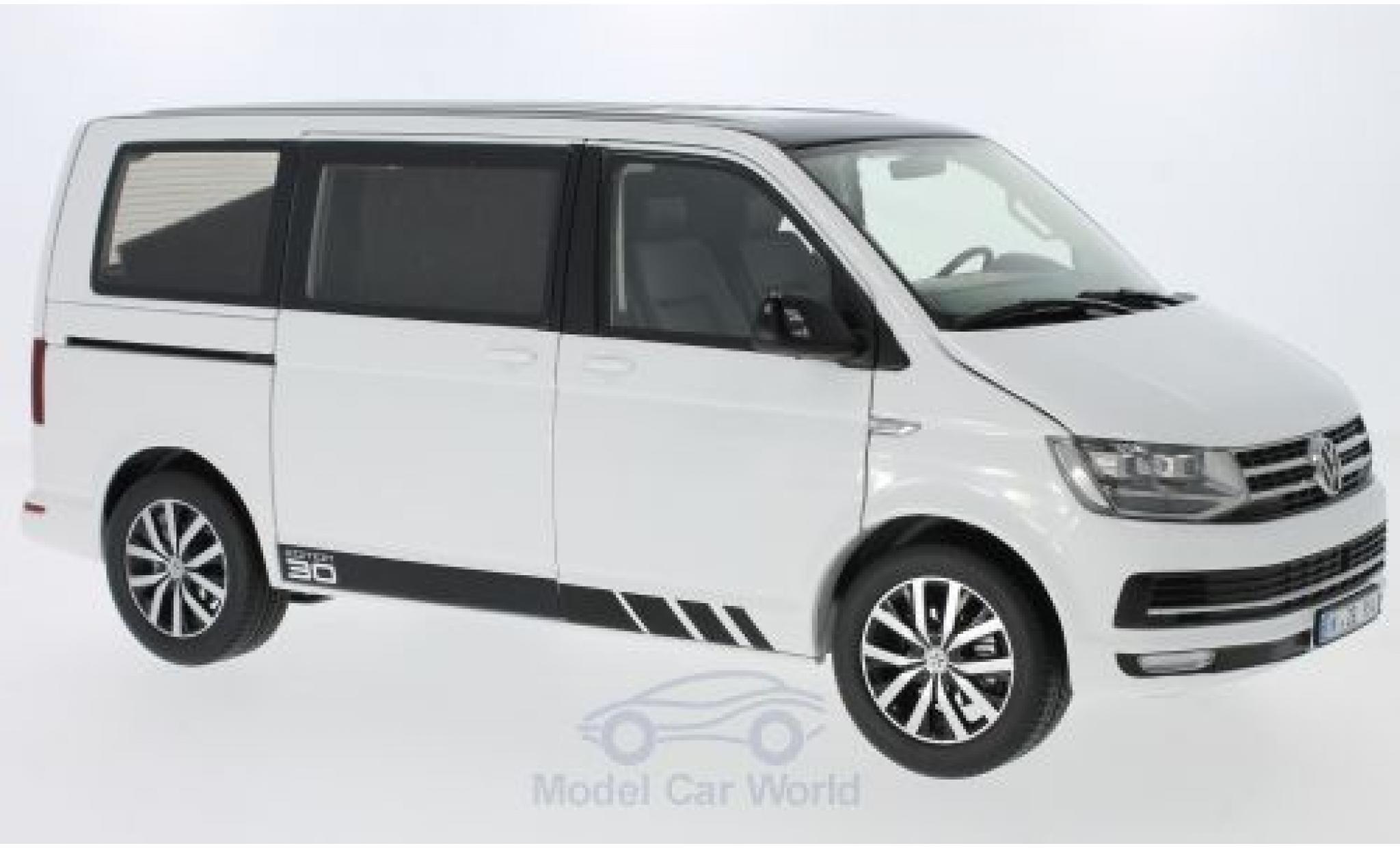 Volkswagen T6 1/18 NZG Multivan blanche/noire 2015 Edition 30