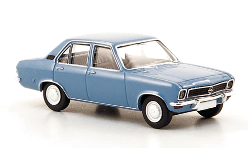 Opel Ascona A 1/87 Brekina bleu 1970 miniature