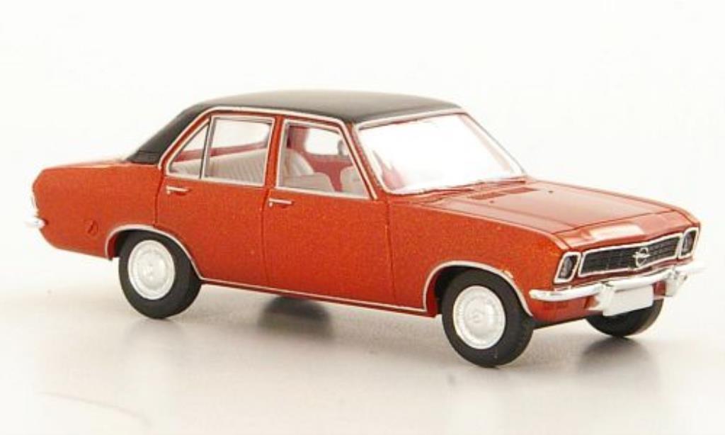 Opel Ascona A 1/87 Brekina kupfer/matt-noire 4-Turer miniature