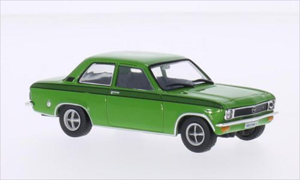 Opel Ascona A 1/43 WhiteBox A Sommer Basar grun/Dekor 1975 miniature