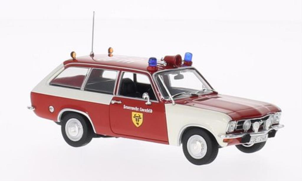 Opel Ascona A 1/43 Minichamps Voyage Feuerwehr Coesfeld 1970 miniature