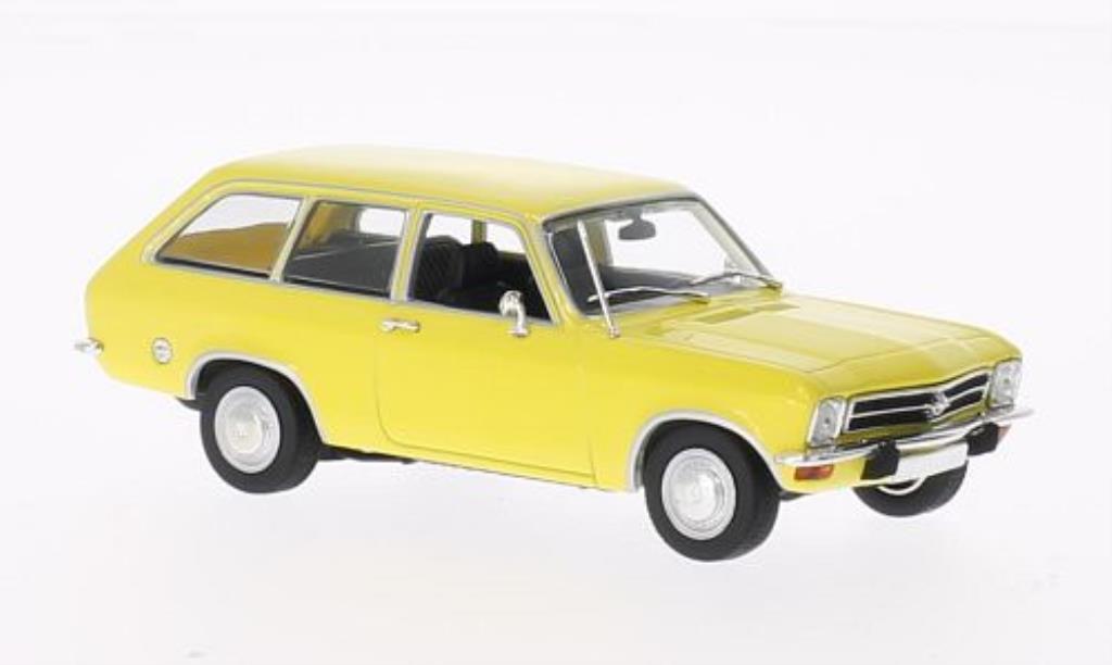 Opel Ascona A 1/43 Minichamps Voyage jaune 1970 miniature