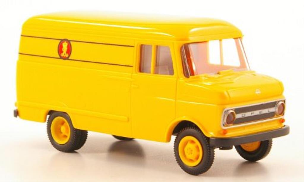 Opel Blitz 1/87 Brekina B Kasten Danische Post miniature