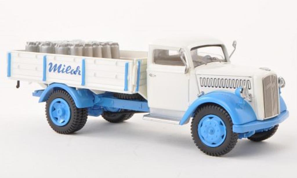 Opel Blitz 1/43 Schuco Pritschenwagen Milchhof miniature