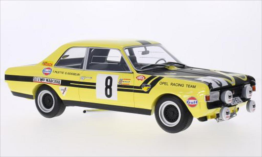 Opel Commodore A 1/18 Minichamps No.8 Steinmetz Tuning 24h Spa 1970 /S.Gosselin miniature