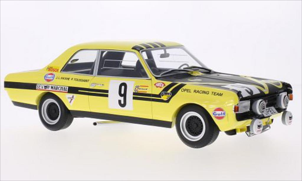 Opel Commodore A 1/18 Minichamps No.9 Steinmetz Tuning 24h Spa 1970 miniature
