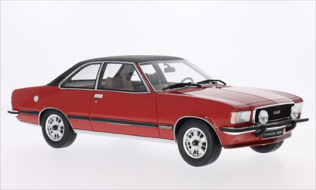Opel Commodore B 1/18 Ottomobile GS/E rouge/matt-noire 1977 miniature