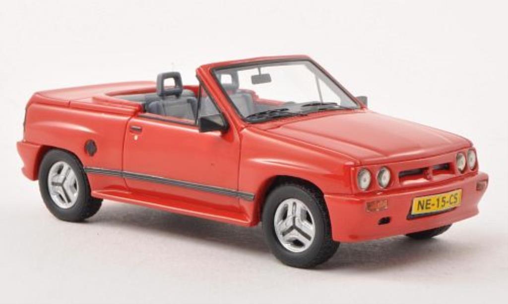 Opel Corsa 1/43 Neo Spider Irmscher i120 rouge 1985 miniature
