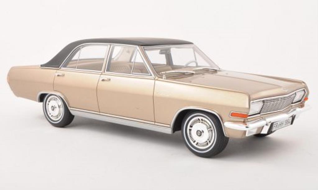 opel diplomat a v8 beige matt schwarz limitierte auflage stuck 1964 mcw modellauto 1 18. Black Bedroom Furniture Sets. Home Design Ideas