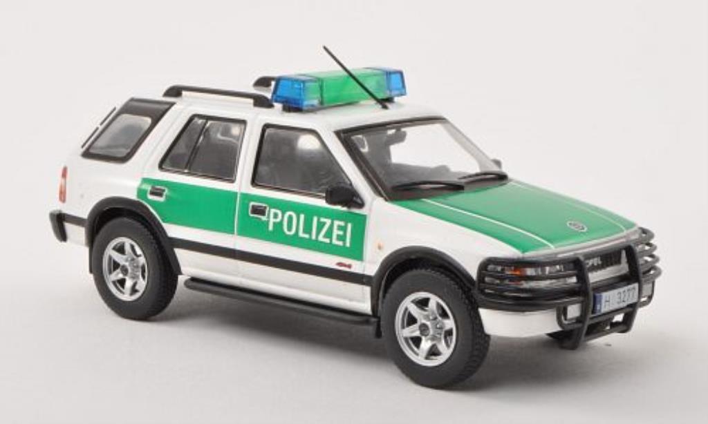 opel frontera b polizei ohne magazin 1999 mcw modellauto 1 43 kaufen verkauf modellauto. Black Bedroom Furniture Sets. Home Design Ideas
