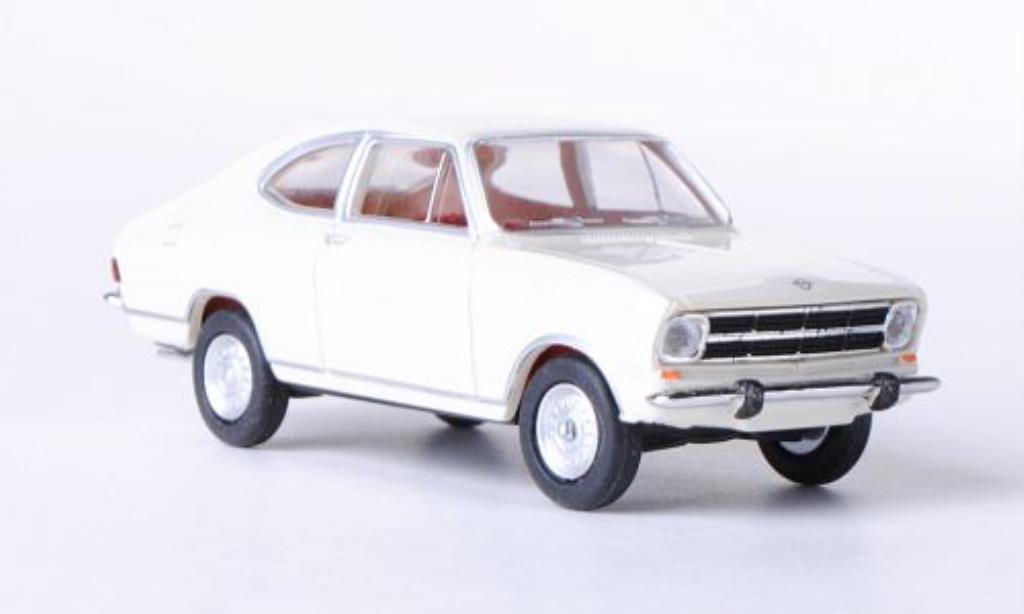 Opel Kadett B 1/87 Herpa Coupe blanche miniature