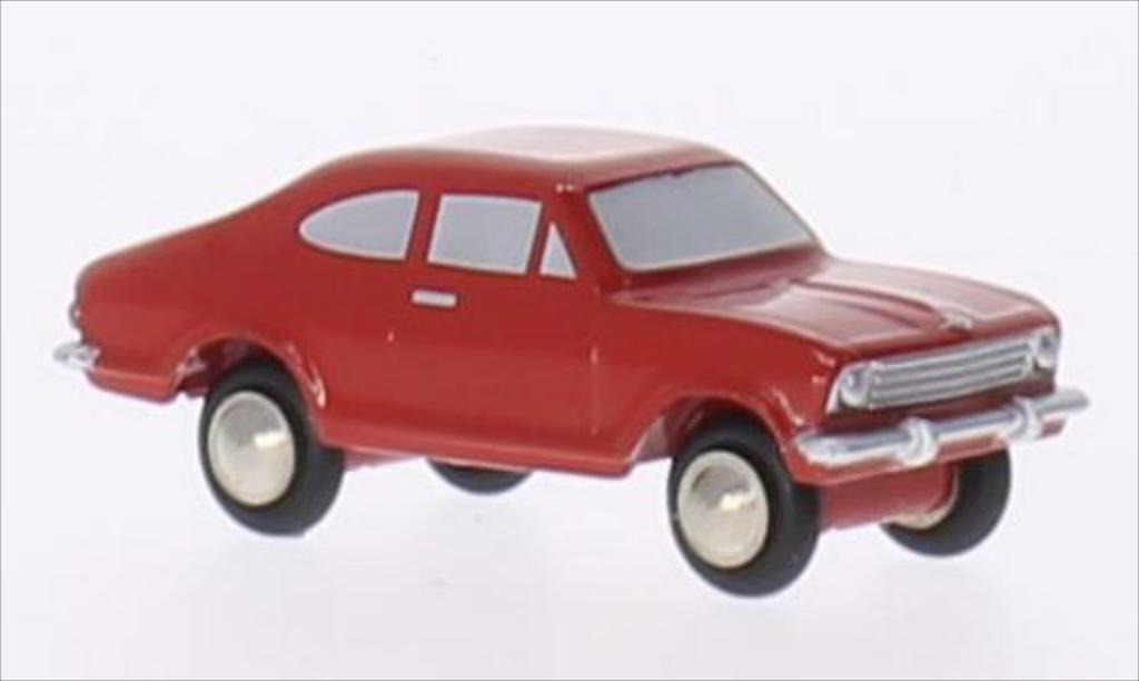 Opel Kadett B 1/90 Schuco Rallye rouge miniature