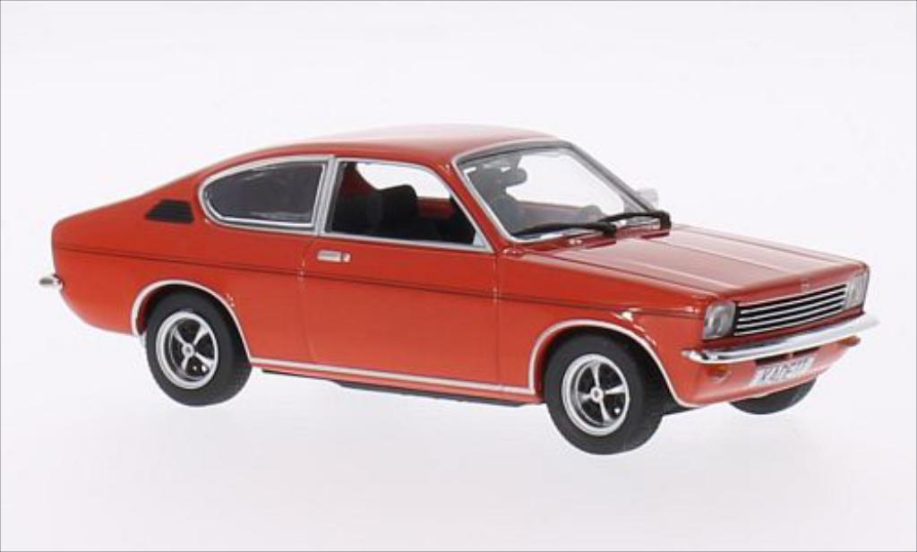 Opel Kadett C 1/43 Minichamps Coupe rouge 1973 miniature