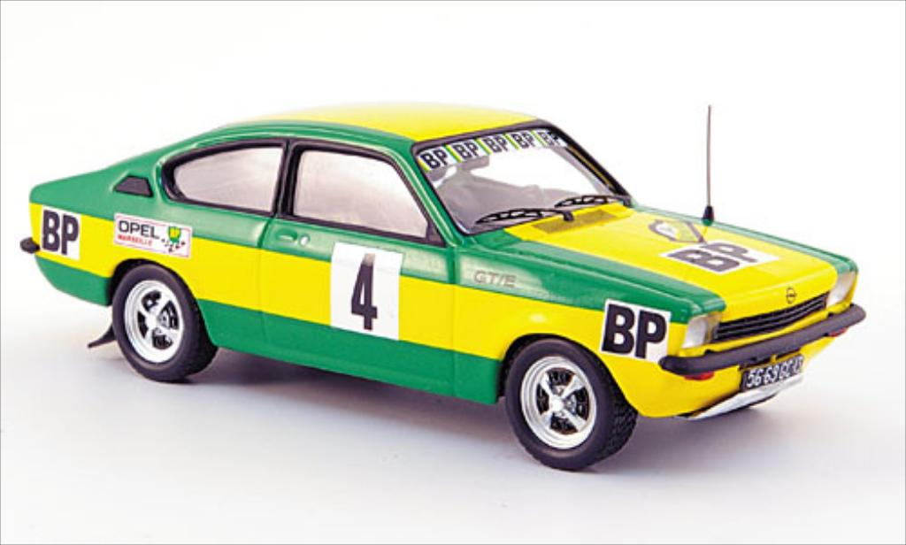 Opel Kadett C 1/43 Trofeu GT/E No.4 BP Rallye des 1000 Pistes 1976 diecast