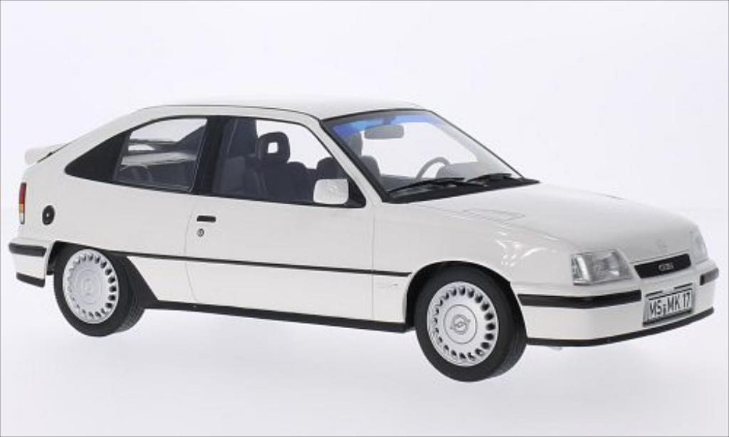 Opel Kadett E 1/18 Norev GSi blanche 1987 miniature