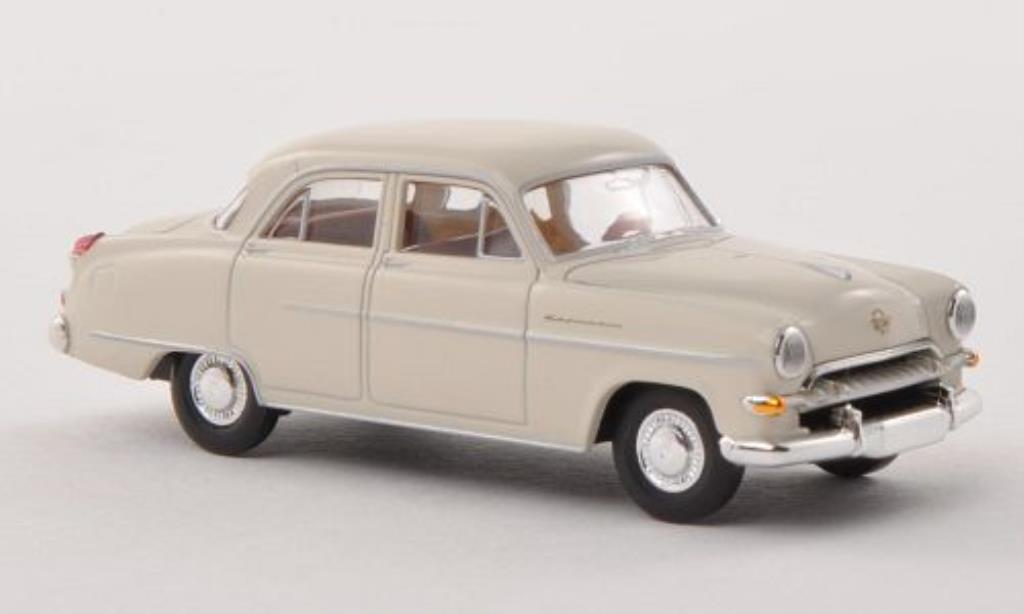 Opel Kapitan 1/87 Brekina 1954 blanche miniature