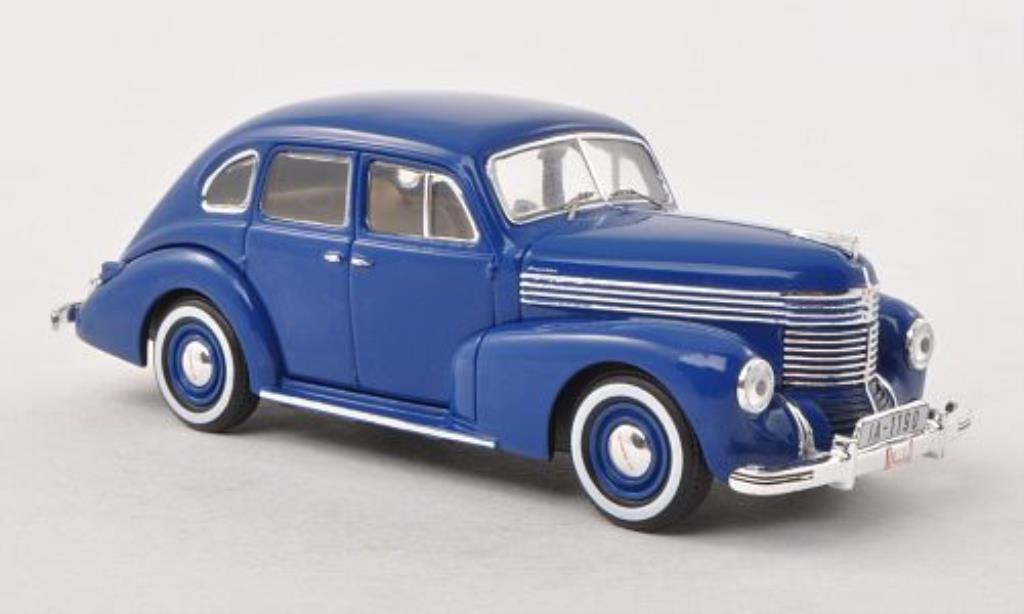Opel Kapitan 1/43 IXO bleu II. Baureihe 1950 miniature