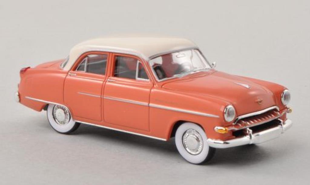 Opel Kapitan 1/87 Brekina lachs-rouge/blanche 1954 miniature