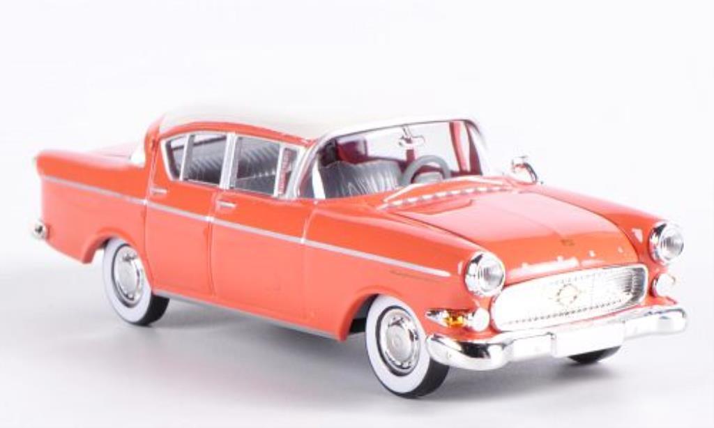 opel kapitan miniature p2 5 lachs blanche brekina 1 87 voiture. Black Bedroom Furniture Sets. Home Design Ideas