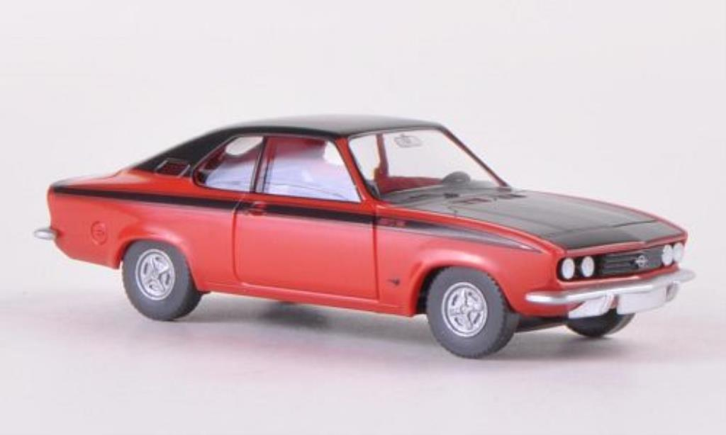 opel manta a gt e rot matt schwarz wiking modellauto 1 87 kaufen verkauf modellauto online. Black Bedroom Furniture Sets. Home Design Ideas