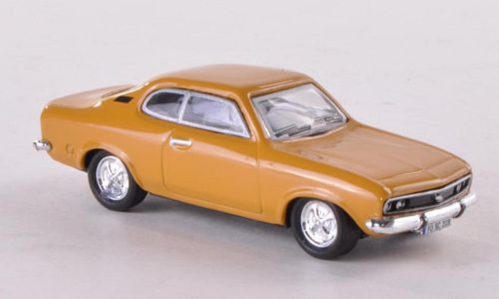 Opel Manta A 1/87 Schuco ocker miniature