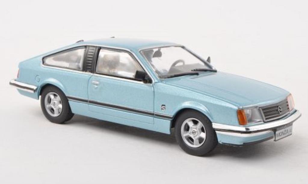 opel monza a blau ohne magazin 1978 mcw modellauto 1 43. Black Bedroom Furniture Sets. Home Design Ideas