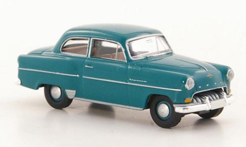 Opel Olympia 1/87 Brekina Rekord grun miniature