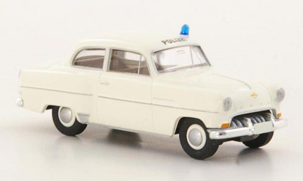 Opel Olympia 1/87 Brekina Rekord Polizei