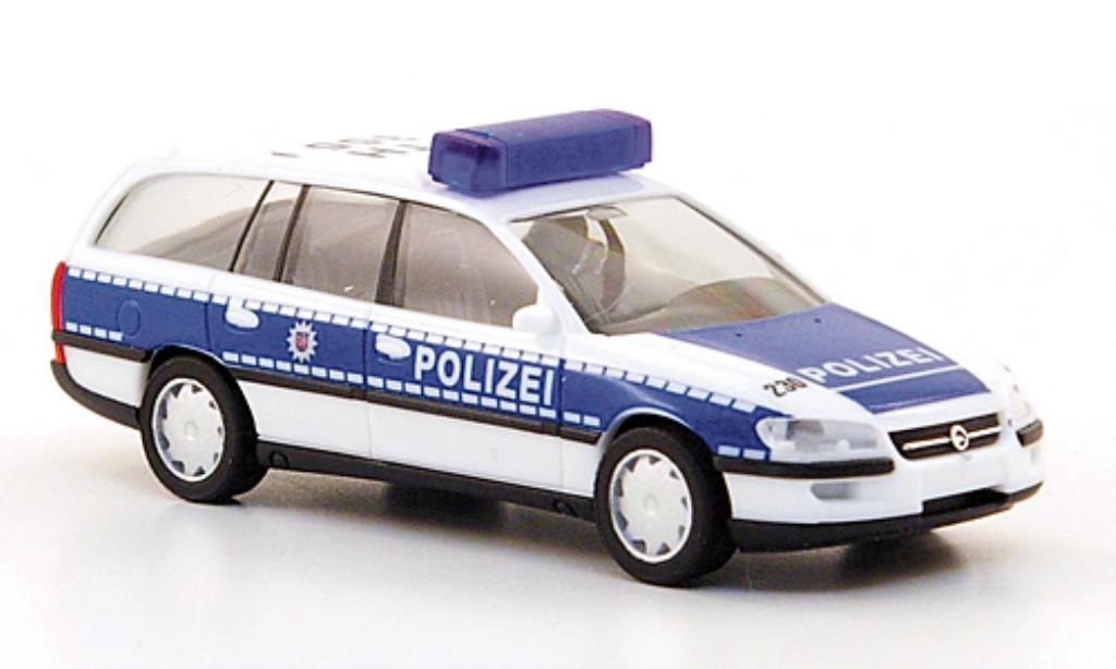 Opel Omega 1/87 Herpa B Caravan Polizei Thuringen miniature