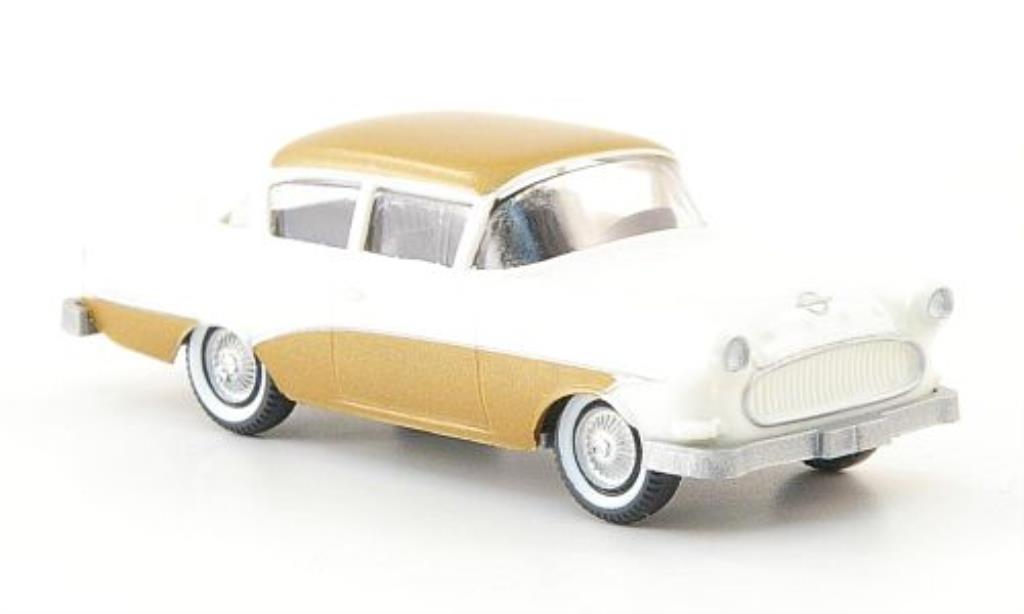 Opel Rekord 1/87 Wiking Ascona beige/gold miniature