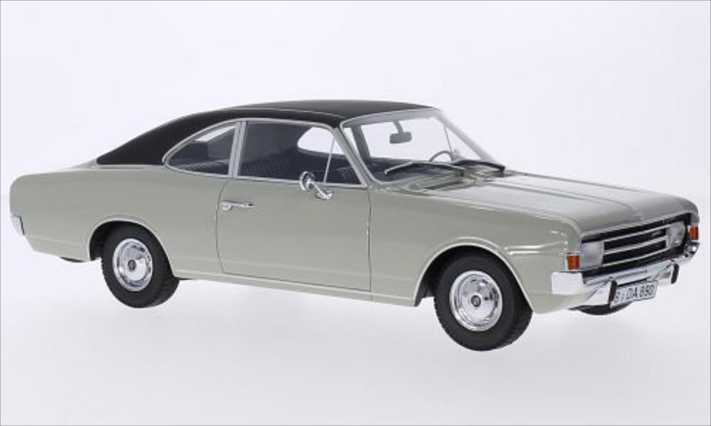 Opel Rekord 1/18 Minichamps C 1700 L Coupe grise/matt-noire 1966 miniature